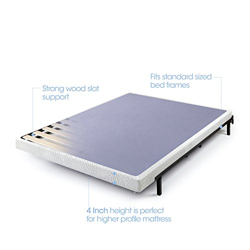 Cheap Zinus 4 Inch Low Profile Metal Smart Box Spring