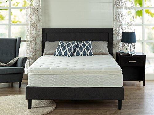 Zinus Sleep Master Ultima Comfort 12 Inch Euro Box Top Spring Mattress