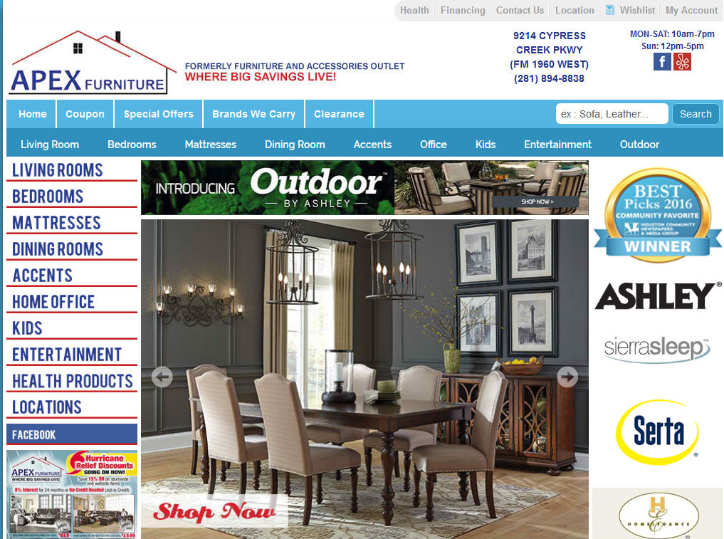 Cheap Furniture Stores In Houston Tx With Online Store